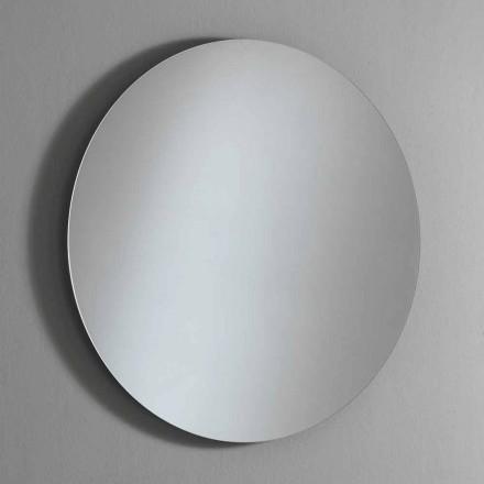 Okrągłe lustro ścienne z podświetleniem i diodą LED Made in Italy - Ronda