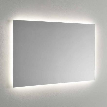 Lustro ścienne z 4-stronnym podświetleniem LED Made in Italy - Romio