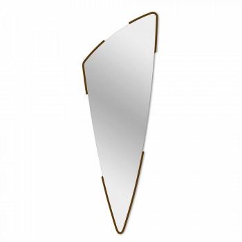 Długie dekoracyjne lustro ścienne w 4 kolorach - Spino
