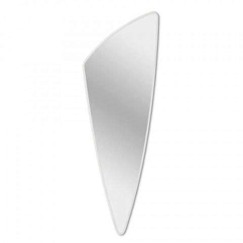 Długie i nowoczesne lustro ścienne w 4 kolorach - Spino