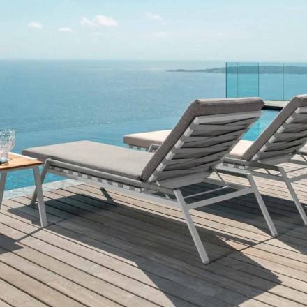 Talenti Cottage ogrodowy leżak design z materiału made in Italy