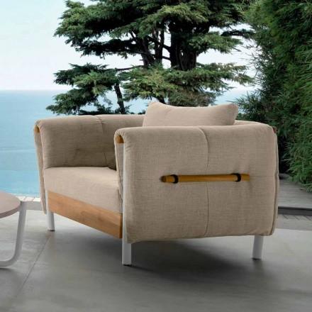 Fotel ogrodowy Talenti Domino wykonany we Włoszech