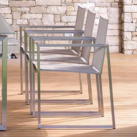 Talenti Essence krzesło ze stali do ogrodu made in Italy