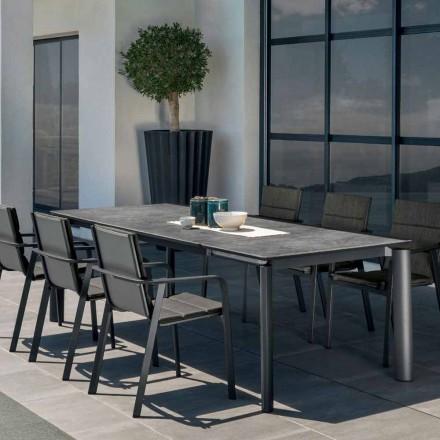 Talenti Milo stół rozkładany ogrodowy design made in Italy