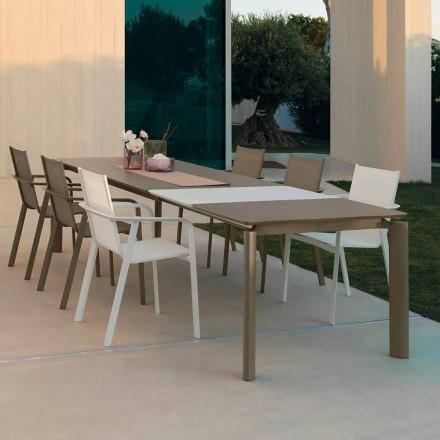 Rozkładany stół ogrodowy Talenti Milo wykonany we Włoszech