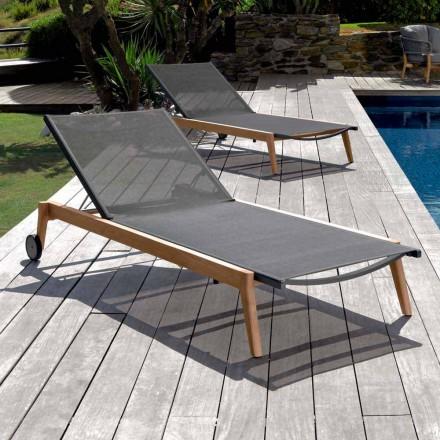Talenti Moon leżak ogrodowy z matriału design made in Italy