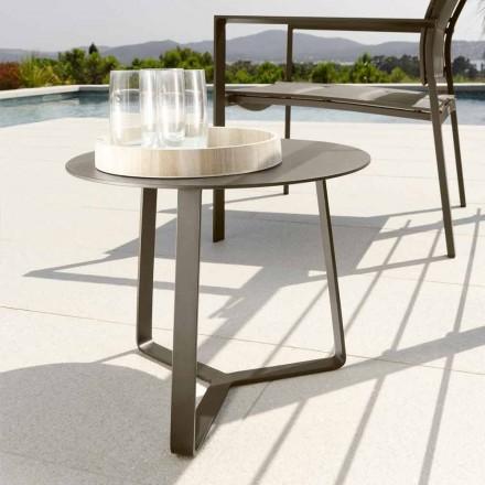 Stolik ogrodowy Talenti Touch z aluminium d.45 wyprodukowany we Włoszech