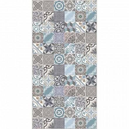 Nowoczesny kolorowy dywanik kuchenny z PVC i poliestru - Belita