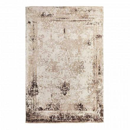Dywan do salonu Vintage Design wykonany z poliestru i bawełny - Hola