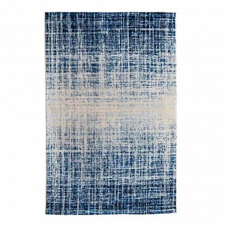 Zaprojektuj prostokątny dywanik do salonu z poliestru i bawełny - styl