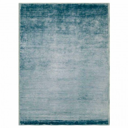 Kolorowy i nowoczesny dywan z bawełny i jedwabiu 2 wymiary - Zefiro