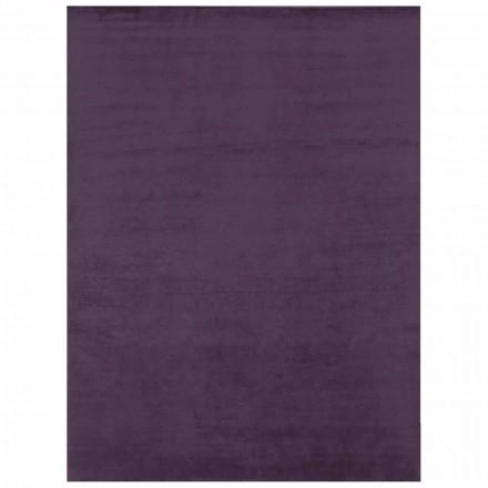 Nowoczesny dywan w kolorowym jedwabiu i dużych wymiarach - Perspektywy