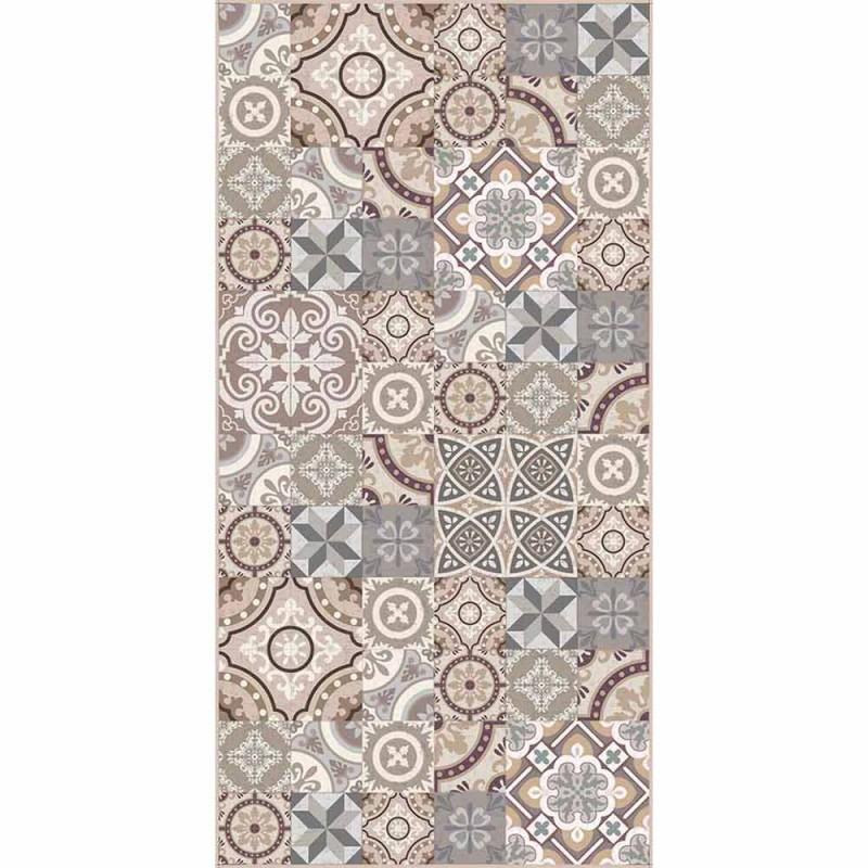 Design Prostokątny dywanik winylowy do salonu - Malia
