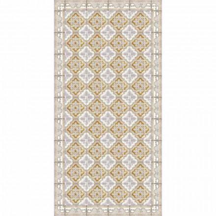 Prostokątny dywan winylowy do salonu o nowoczesnym designie - Dorado