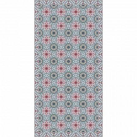 Prostokątny dywan do salonu w nowoczesnej majolice Fantasy Vinyl - Costa