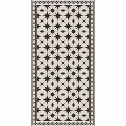 Prostokątny dywan winylowy o nowoczesnym designie z fantazją - Osturio