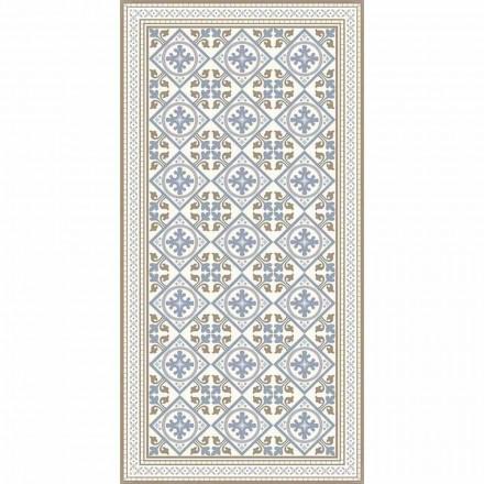 Nowoczesny dywan do salonu z PVC i poliestru z fantazją - Leno