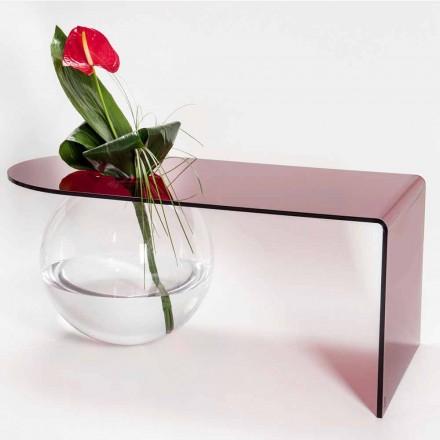 Nowoczesny stół z plexi wykonany we Włoszech, Bolly