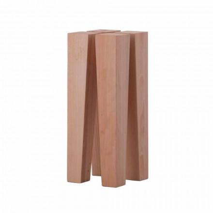 Stolik kawowy o nowoczesnym designie z drewna bukowego - Roncone