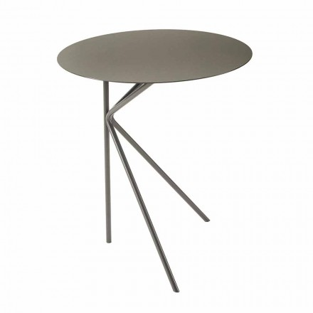 Wysokiej jakości kolorowy metalowy stolik kawowy Made in Italy - Olesya