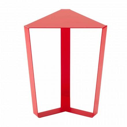 Made in Italy Design Kolorowy metalowy stolik kawowy - Yasmine