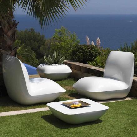 Stolik kawowy na poduszkę Vondom, nowoczesny design 67x67 cm