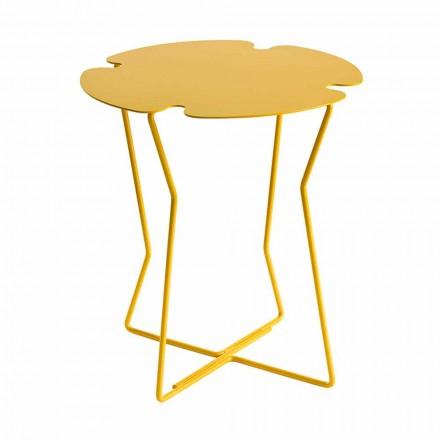 Stolik kawowy do salonu z metalu, design w różnych kolorach - Kathrin