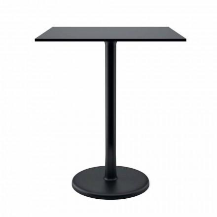Stół zewnętrzny z żeliwa metalowego i HPL Made in Italy - Burton