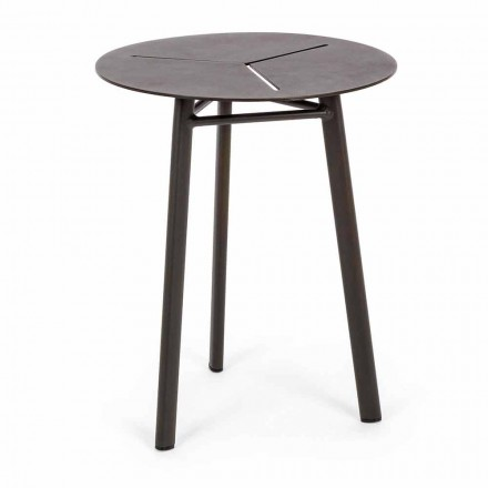 Okrągły stół ogrodowy z aluminium w stylu Homemotion - Nigerio