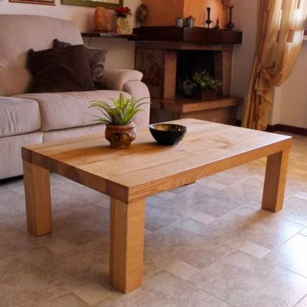 Stolik kawowy z litego drewna jesionowego Made in Italy - Nicea