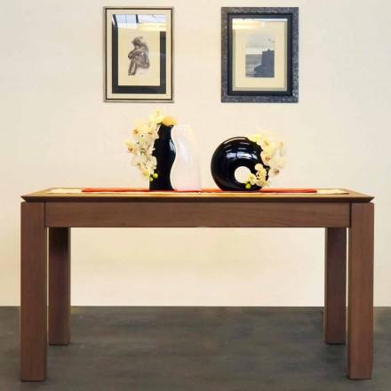 Rozsuwany stół z litego dębu, wykonany we Włoszech, Frank