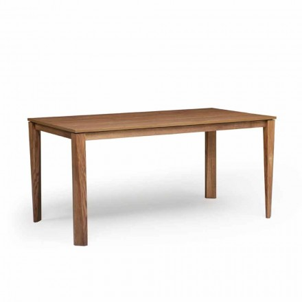 Stół rozkładany design z podstawą drewnianą, Medicina