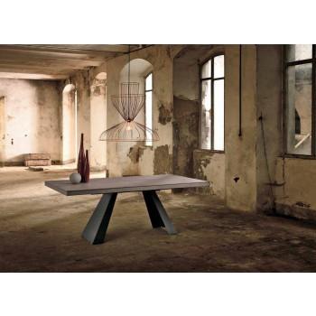 Rozkładany stół w drewnie dębowym z Włoch Zerba