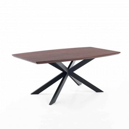 Projekt rozkładanego stołu w formacie Mdf i metalu - Torquato