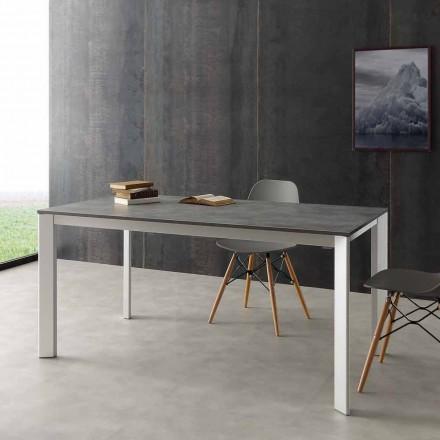 Stół rozkładany do 3 mt aluminium i laminat hpl model Urbino