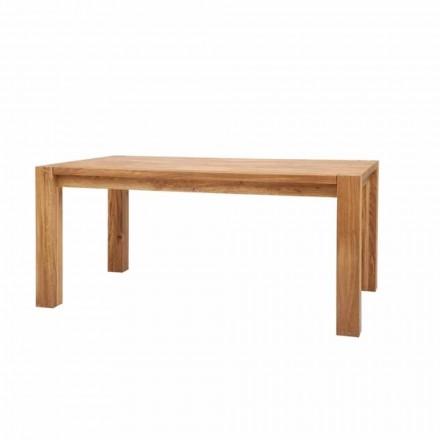 Nowoczesny stół przedłużający z litego dębu, L180 / 280xP100cm, Jacob