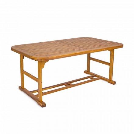 Rozkładany stół do 240 cm z drewna ogrodowego, design - Roxen