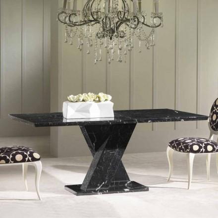 Stół  marmuru prostokątny model Byron