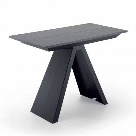 Wysuwany stół konsoli do 325 cm w laminatach Made in Italy - Dalmata