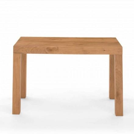 Rozkładany stół konsoli z drewna fornirowego Made in Italy - Gordito