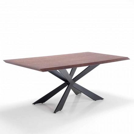 Nowoczesny design stołu w formacie Mdf i metalu - Hoara