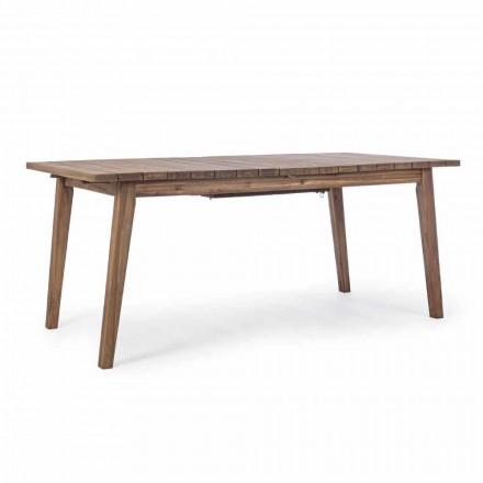 Rozkładany stół ogrodowy do 240 cm z drewna akacjowego - Howard
