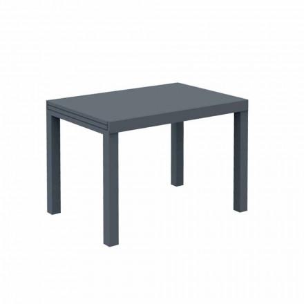 Rozkładany stół zewnętrzny do 280 cm z metalu Made in Italy - Dego