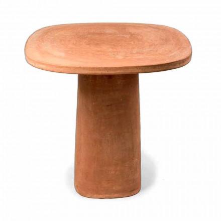 Kwadratowy stół z terakoty 70x70 cm Made in Italy - Yulia