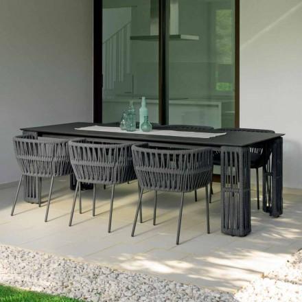 Stół ogrodowy Cliff rozciągliwy do 300 cm, Talenti by Palomba