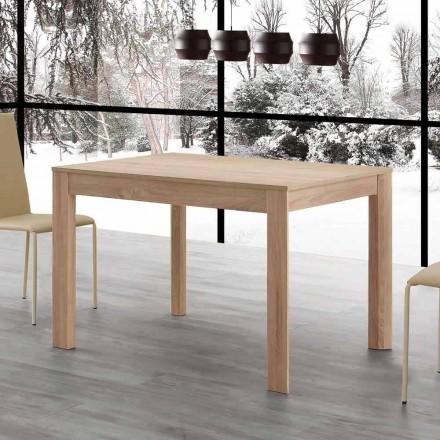 Stół rozkładany Fiumicino 130x80 otwarty 190 cm, design
