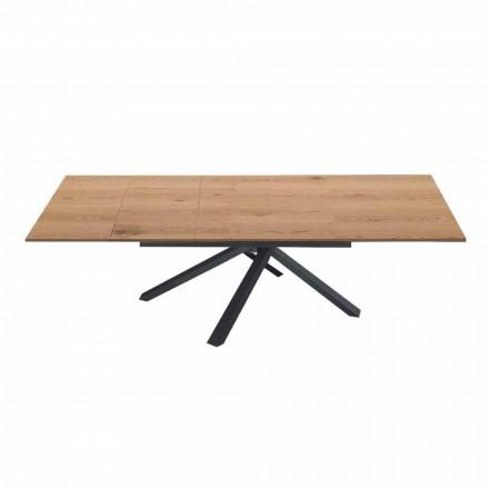 Stół rozkładany do 260 cm z nowoczesnego drewna - Gabicce
