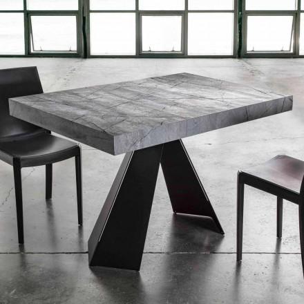 Stół rozkładany do 220 cm z blatem z melaminy - Amiro
