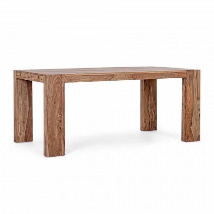 Drewniany stół do jadalni Homemotion rozkładany do 265 cm - Bruce