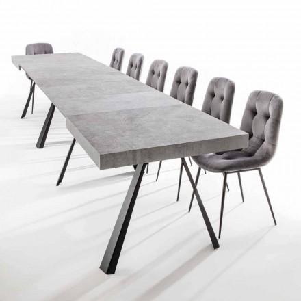 Stół rozkładany do 500 cm z blatem melaminowym - Raimondo